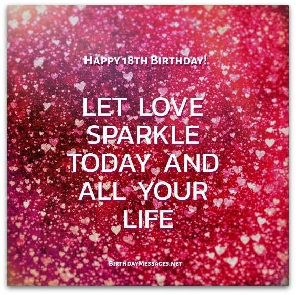 18th Birthday Wishes Birthday Messages for 18 Year Olds – Download Free Birthday Cards