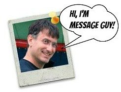 Kevin, Message Guy, the creator of BirthdayMessages.net!