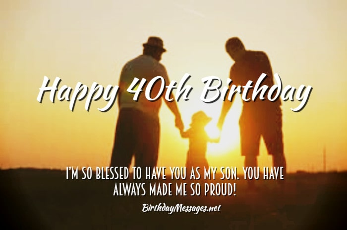 40th Birthday Wishes: Birthday Messages for 40 Year Olds