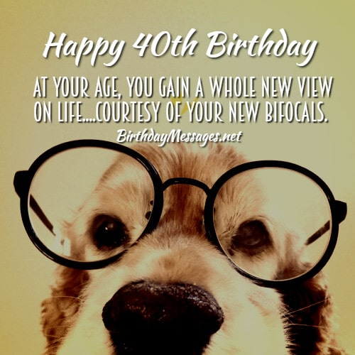 40th Birthday Wishes Quotes Birthday Messages For 40 Year Olds