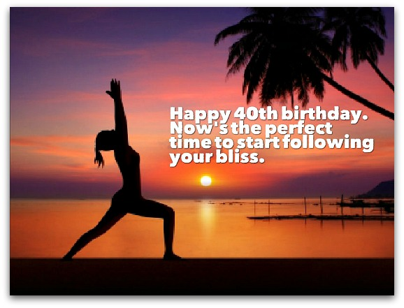 40th Birthday Wishes - Birthday Messages for 40 Year Olds
