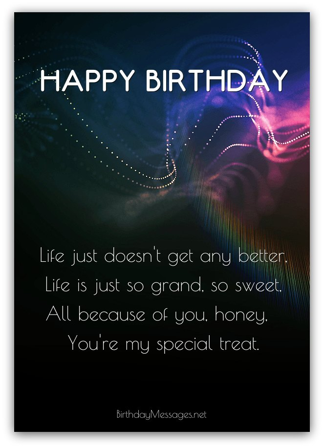 Romantic Birthday Poems: Romantic Birthday Messages