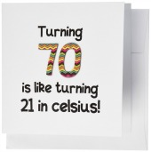 70th Birthday Cards