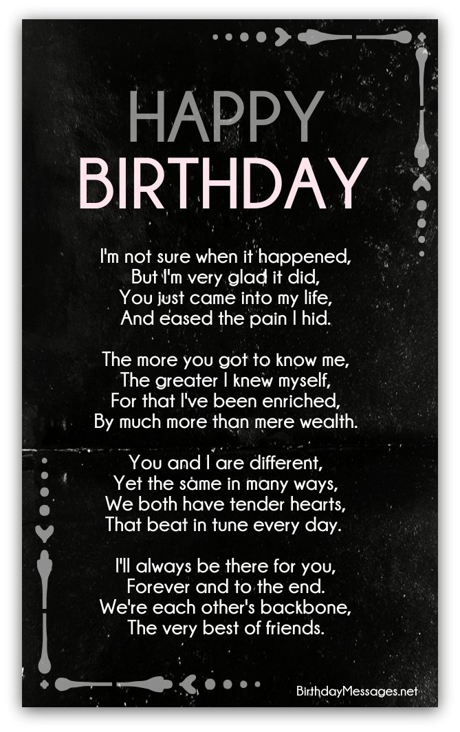 Clever Birthday Poems - Clever Poems for Birthdays