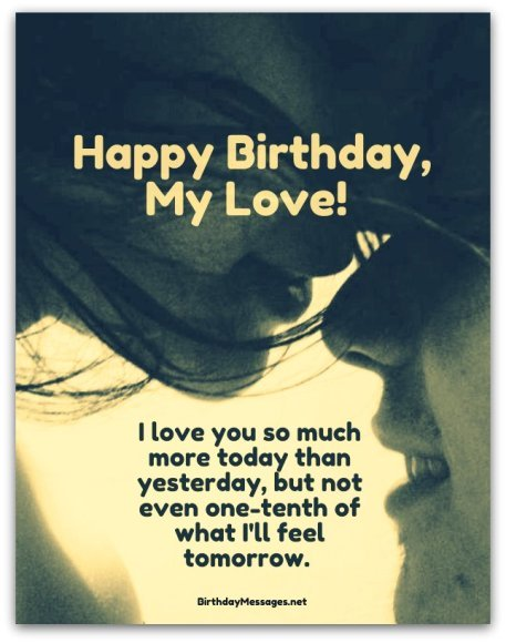 Romantic birthday wishes birthday messages for lovers romantic birthday wishes romantic birthday messages m4hsunfo