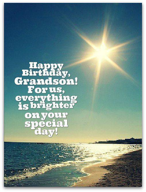 Grandson Birthday Wishes