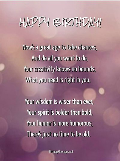 Birthday Poems - Original Poems for Birthdays