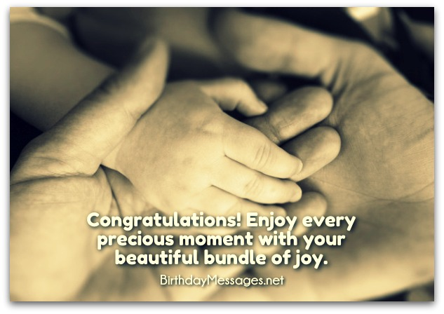 Newborn Baby Birthday Wishes - Newborn Baby Birthday Messages