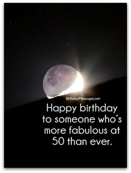 Birthday Wishes Birthday Messages for 50 Year Olds – Verses for 50th Birthday Cards