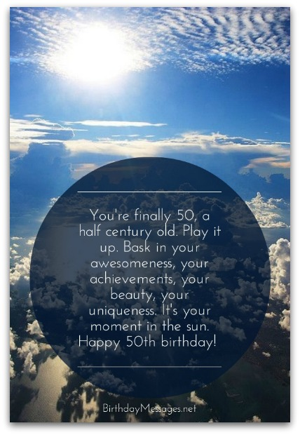 50th birthday wishes birthday messages for 50 year olds message guy tip 7 how to personalize the birthday wishes here for your husband or wife m4hsunfo