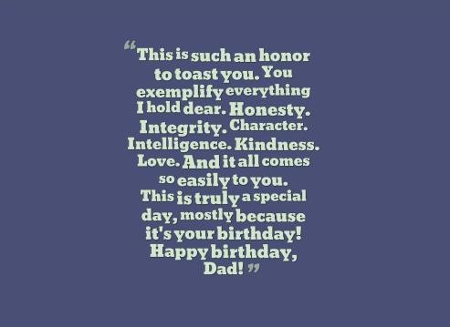 Sentimental Birthday Toasts - Toasts for Birthdays