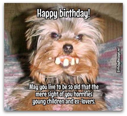 Birthday Wishes - Funny Birthday Wishes