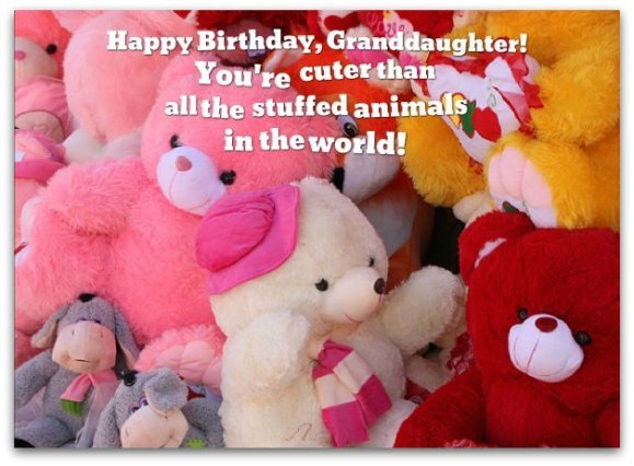Granddaughter Birthday Wishes Loving Messages