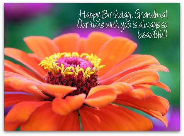 Grandmother Birthday Wishes