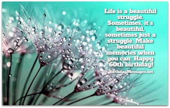 60th Birthday Wishes - Birthday Messages for 60 Year Olds