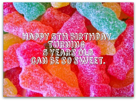 5th Birthday Wishes: Birthday Messages for 5 Year Olds