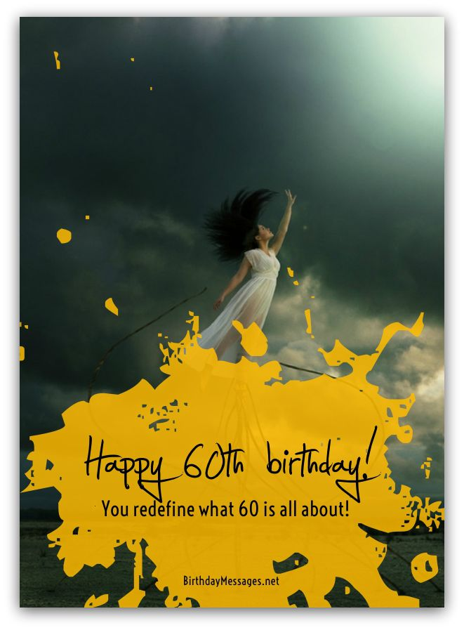 Messages For 60 Year Olds Download Free Birthday Postcard
