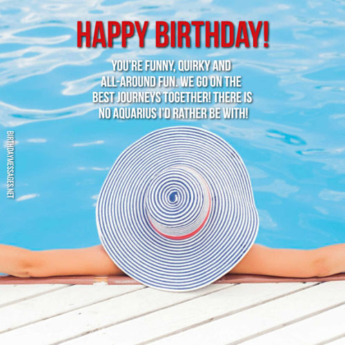 Aquarius Birthday Wishes: 240 Zodiac Birthday Messages