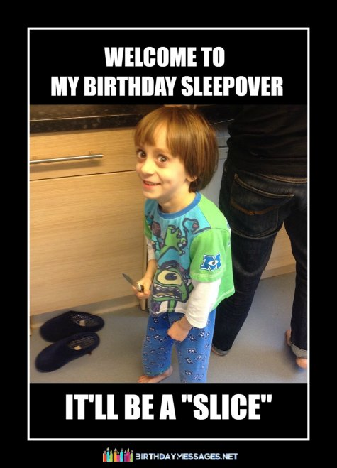Funny kid memes for birthdays