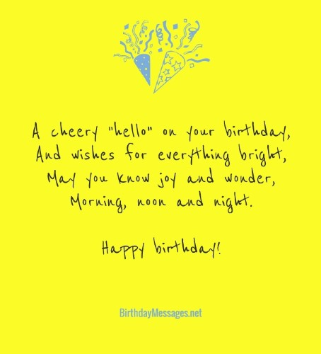 Pleasing Birthday Poems Hundreds Of Happy Birthday Poems Personalised Birthday Cards Veneteletsinfo