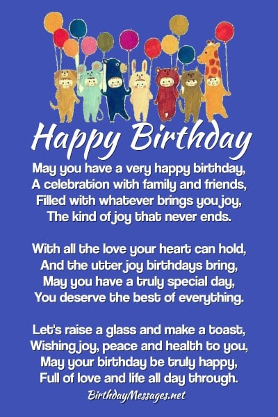 Magnificent Birthday Poems Hundreds Of Happy Birthday Poems Funny Birthday Cards Online Elaedamsfinfo