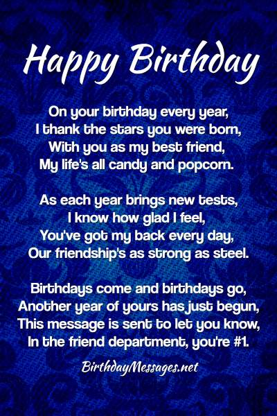 Birthday Poems Heartfelt Humorous Happy Birthday Poems | 150 original messages for friends and loved ones. birthday poems heartfelt humorous