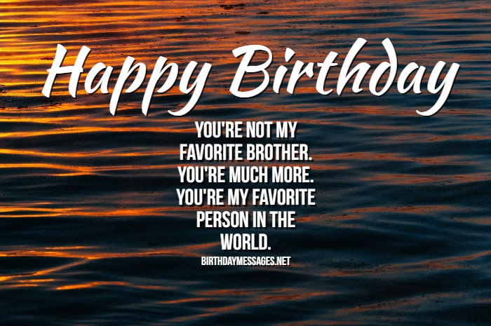Birthday Wishes For Brother: Birthday Messages For Brothers