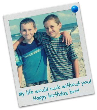 Happy Birthday, Brother - Birthday Messages for Brothers