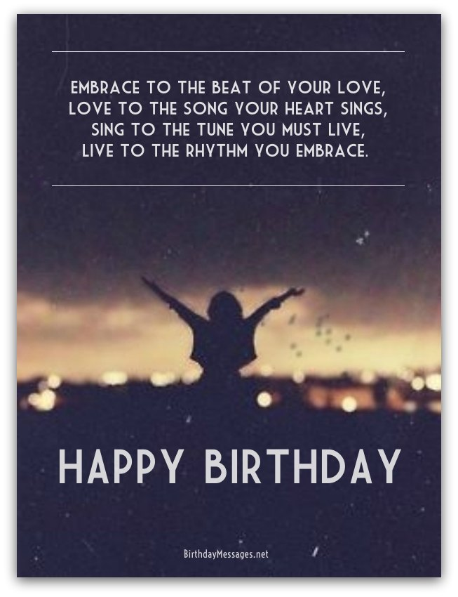 Cool Birthday Poems - Cool Birthday Messages