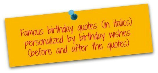 Clever Birthday Quotes Famous Birthday Messages – Clever Birthday Greetings