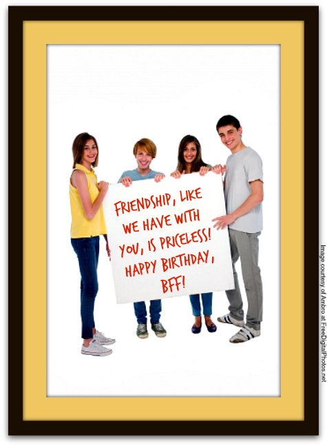 Birthday Messages for Friends - Friend Birthday Wishes
