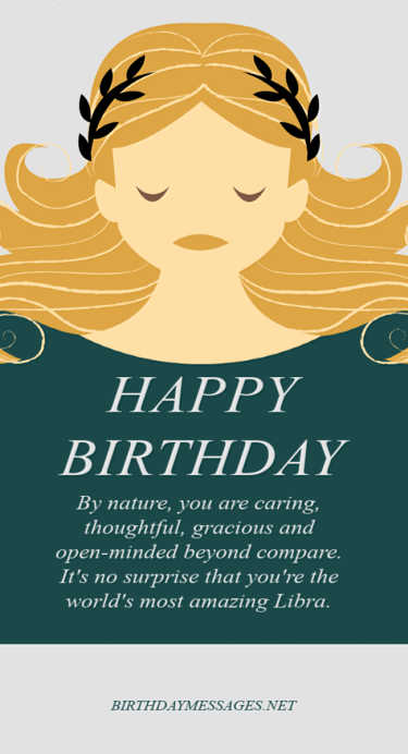 Libra Birthday Wishes: 240 Zodiac Birthday Messages