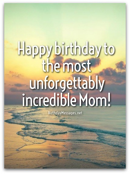 Mom Birthday Wishes Special Birthday Messages for Mothers – Special Birthday Greeting