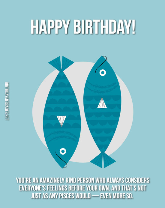 Pisces Birthday Wishes: 240 Astrology Birthday Messages