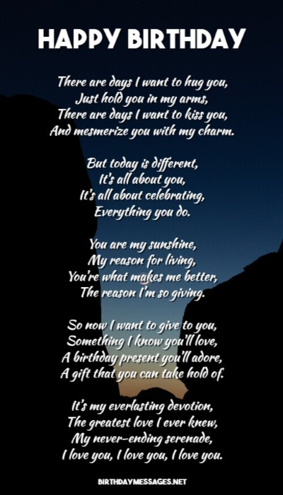 Poems i need for husband you Wife's Love