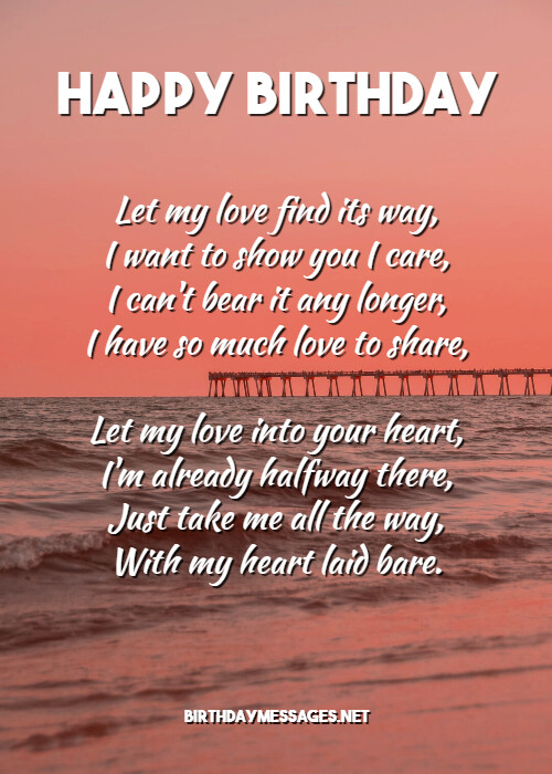 Girlfriend for romantic sweet poems Romantic Poems