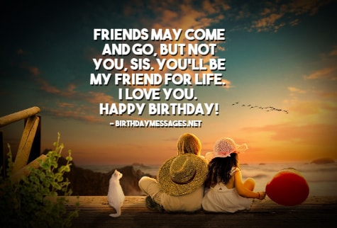 Sister Birthday Wishes - 200+ Birthday Messages for Sisters