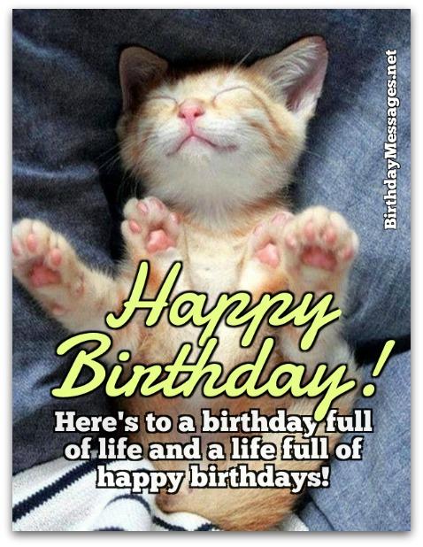 Birthday Wishes - Cute Birthday Wishes