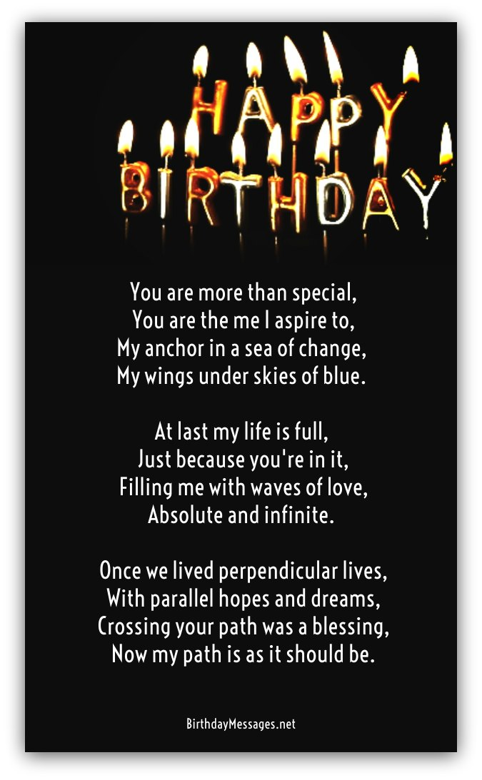 Clever Birthday Poems