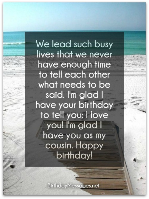 Cousin birthday wishes birthday messages for cousins download free birthday postcard m4hsunfo