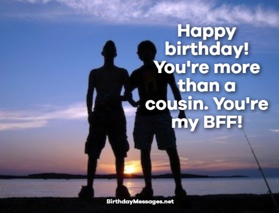 Cousin Birthday Wishes: Birthday Messages for Cousins