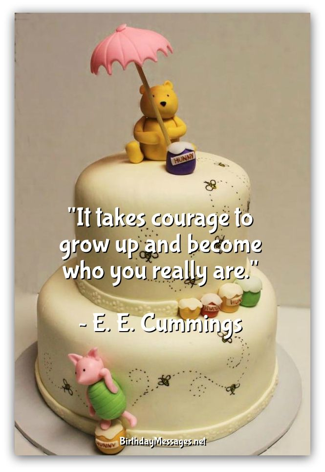 Cute Birthday Quotes - Famous Birthday Messages