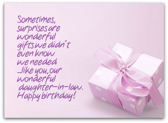 In Law Birthday Wishes Page 3