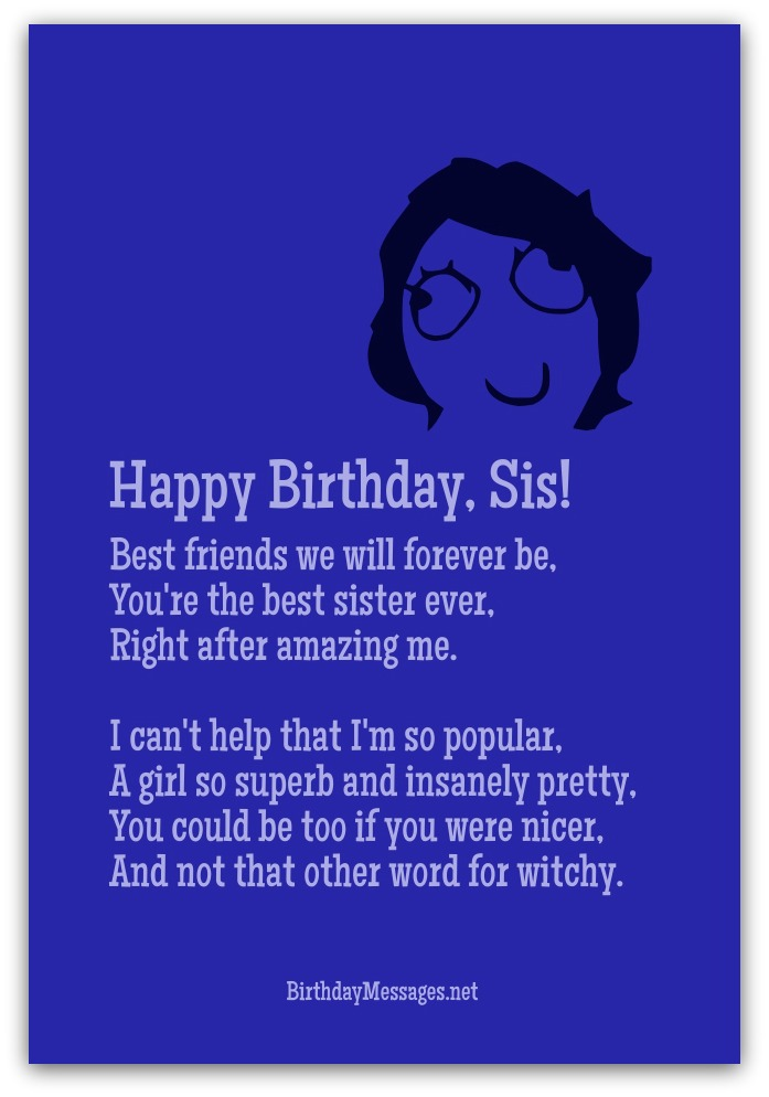 Funny Birthday Poems - Page 3