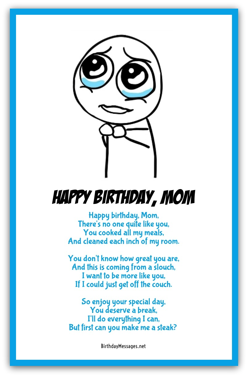 Happy 50th Birthday Mom Message