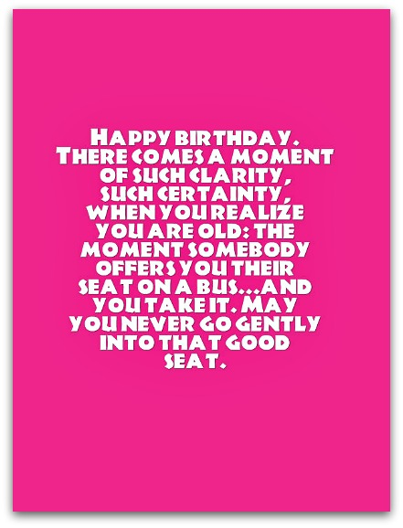 Funny Birthday Toasts - Funny Birthday Messages