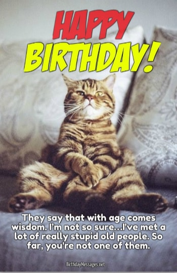 Funny Birthday Wishes Funny Birthday Messages – Funny Birthday Cards for Old People