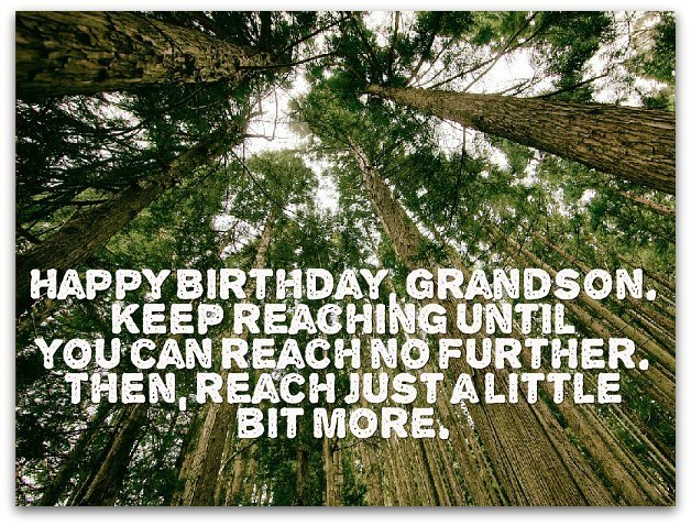 Grandson Birthday wishes
