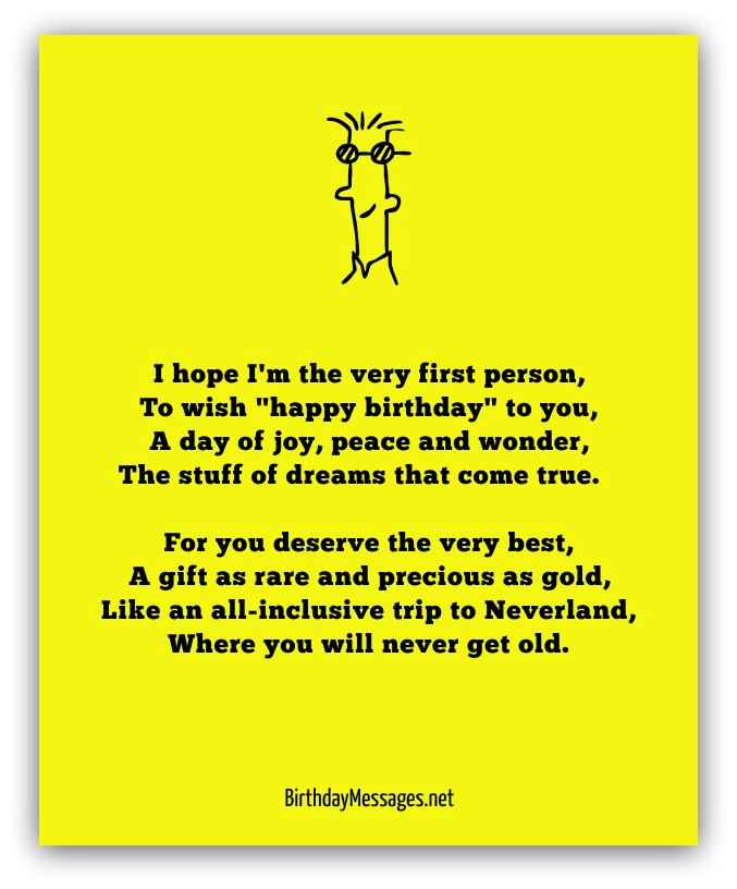 Happy Birthday Poems For Him Cute Poetry For Boyfriend Or: Happy Birthday Messages