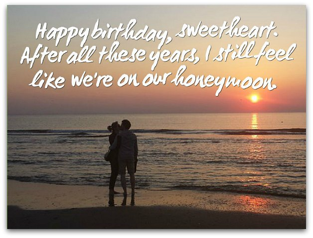 Husband Birthday Wishes Messages For Husbands